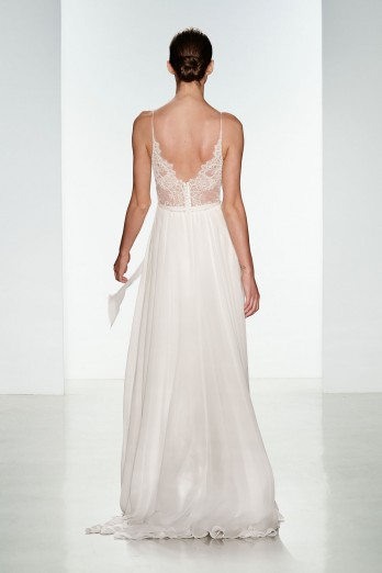 Tinsley Silk Chiffon Wedding Gown