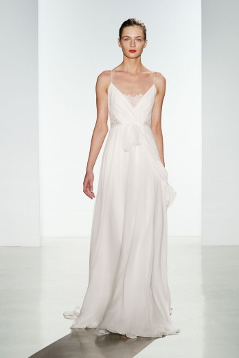 silk chiffon christos bridal wedding dress