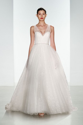 tulle ballgown by christos bridal