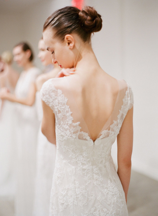 Lace Wedding Dresses by Christos