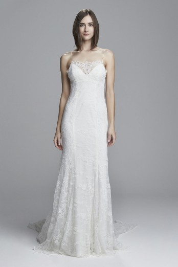 Lace fit to flare wedding dress_Lulu