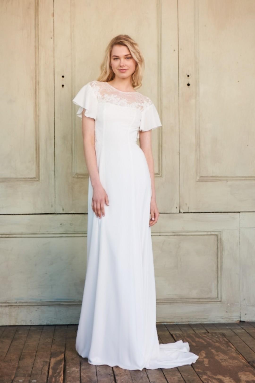 wedding dress lace wedding dress bridal gown christos
